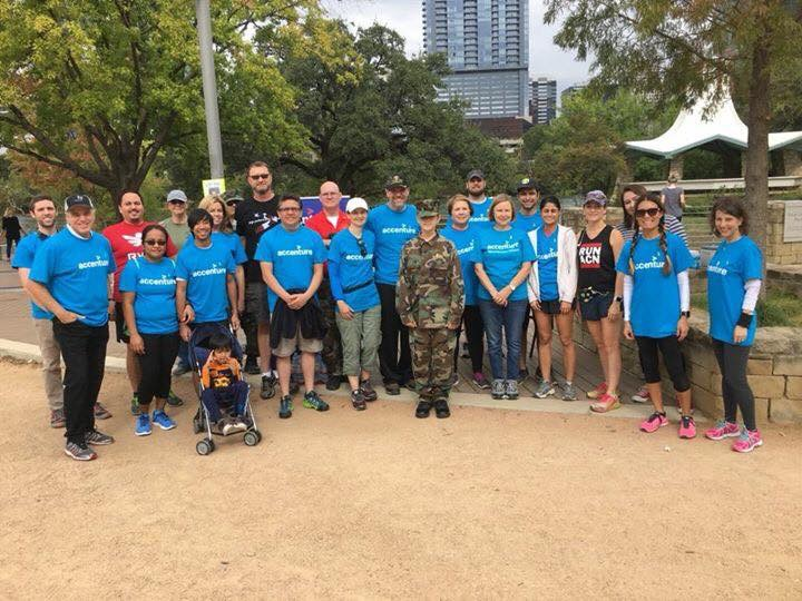 Accenture fitness walk to raise money for Vets