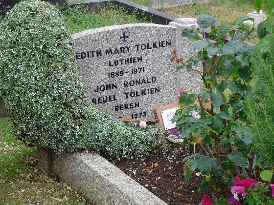 Grave of JRR Tolkien